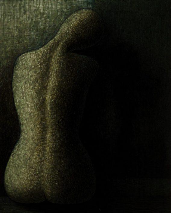 Study of Woman's Limbless Torso